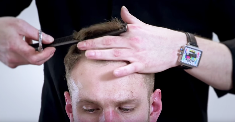Cut and basic barbering video thumbnail