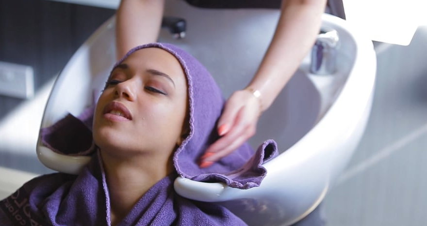 Relaxing hair video thumbnail