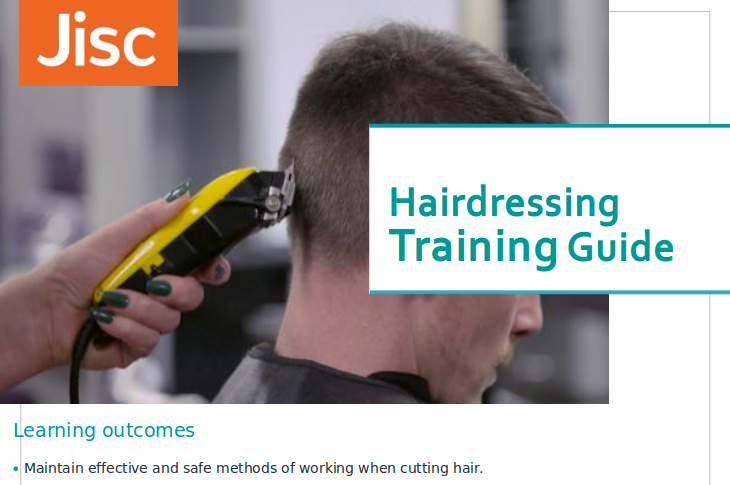 Cut hair using basic barbering techniques guide thumbnail